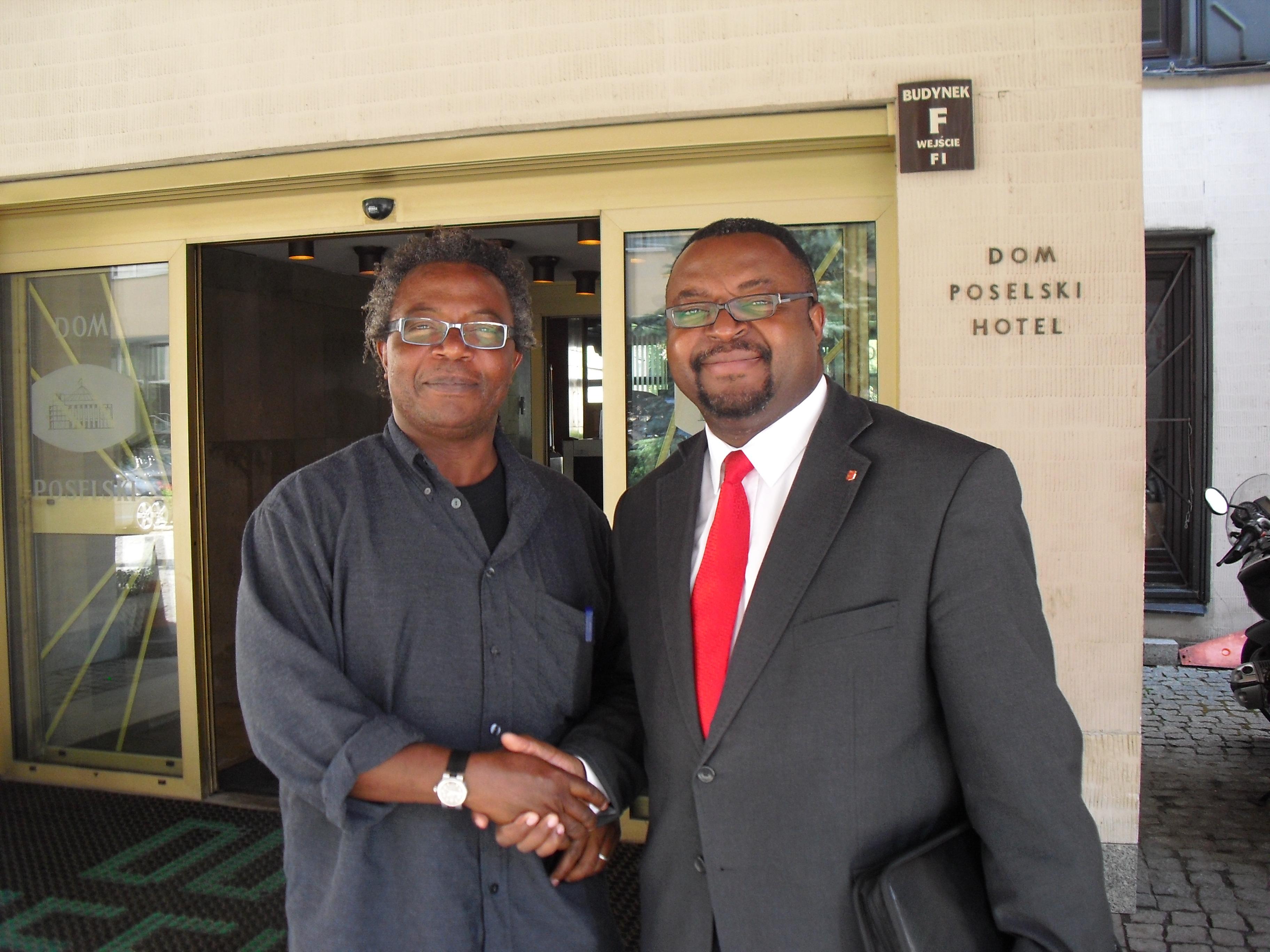 Femi Akomolafe interview with Polish MP John Abraham Godson