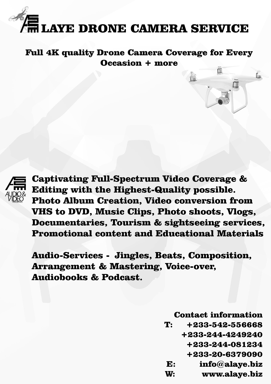 Alaye Drone Camera Service