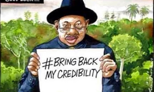 goodluck jonathan bring back my credibility