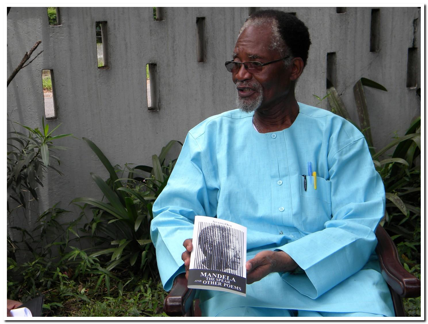 Interview with Professor Atukwei Okai