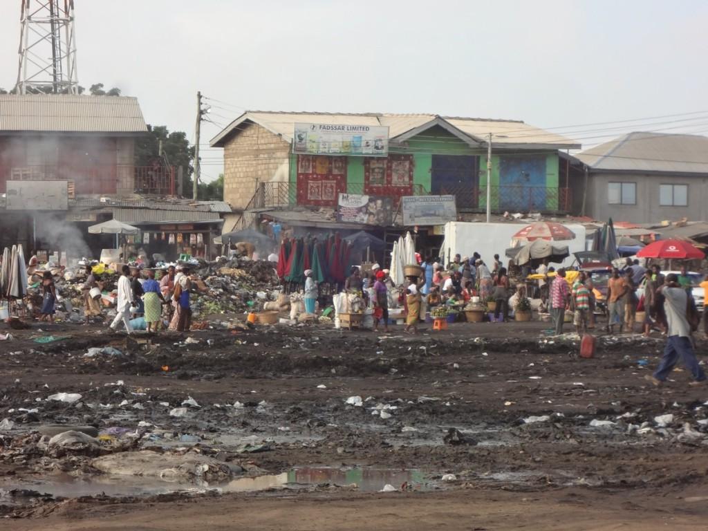 kasoa slum