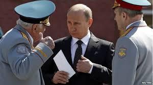 putin and generals
