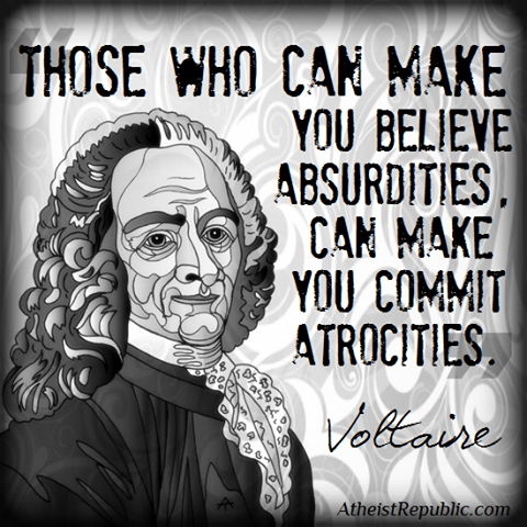 voltaire on religion
