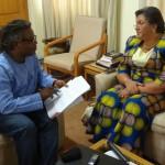 AlayeWebTV Interview with Minister Hanna Tetteh