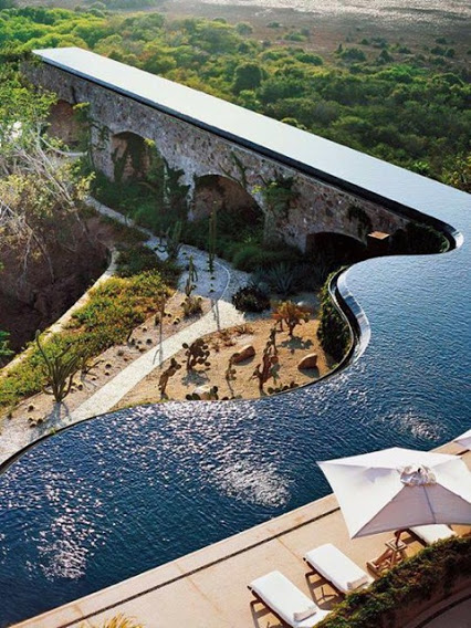 Marcel Marongiu Designed Pool in Mexico