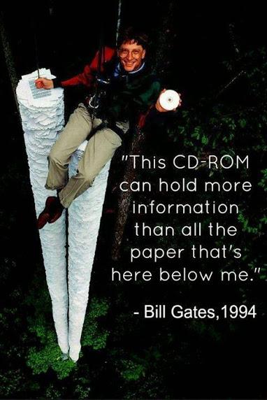 bill gates on cdrom
