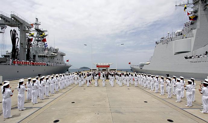 CHINA-USA/DEFENCE