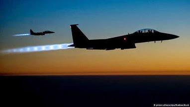 jet on a night sky