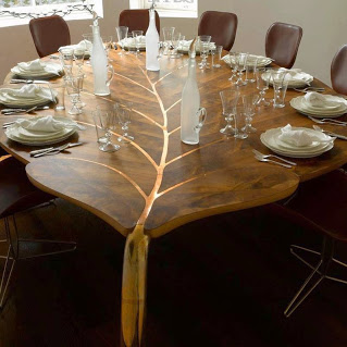 leafy table