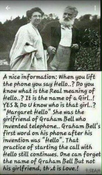 meaning of hello
