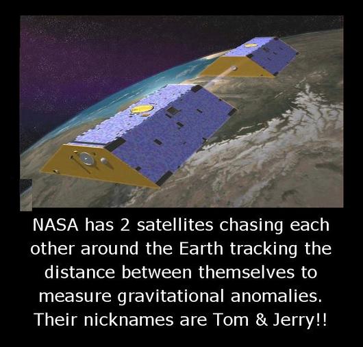 nasa two satelittes