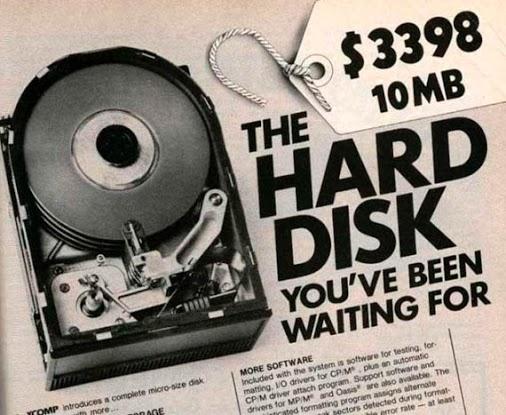 pricey Hard disk