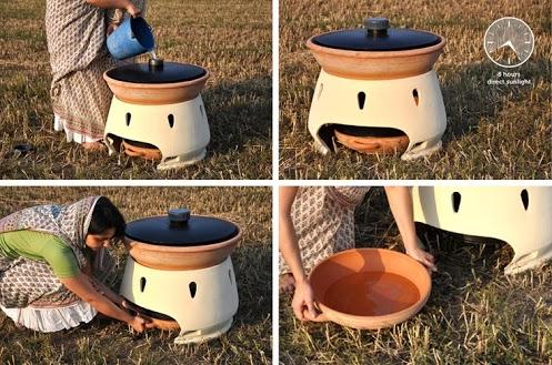 solar powered water purifier