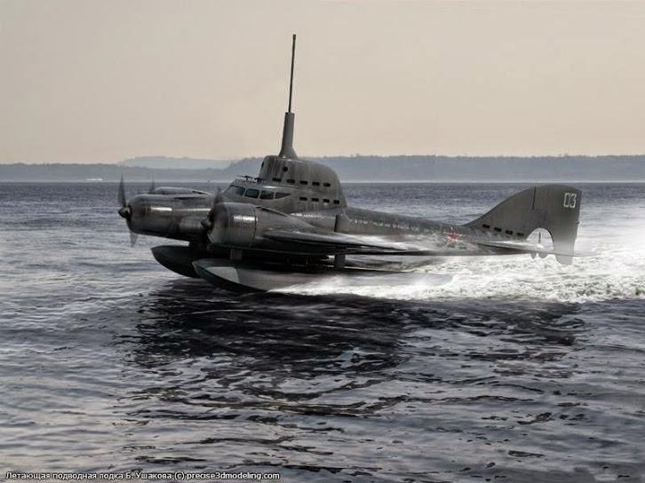 soviet flying submarine