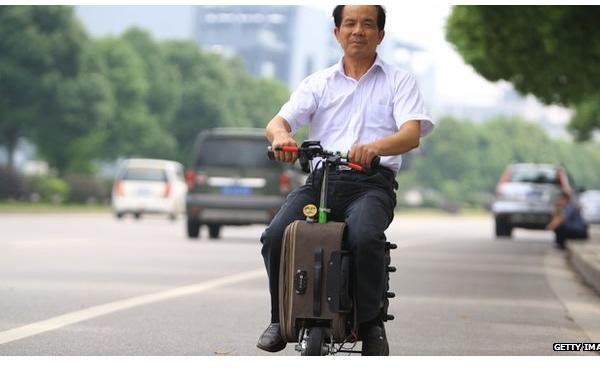 suitcase bike