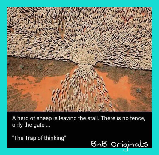 the trap of thinking