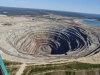 Chuquicamata is an open pit copper mine in Chile. It is the mine with the largest total production of copper in the world – though it is not the largest copper mine. The mine is over 850 meters de