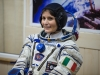 Expedition 42 Flight Engineer Samantha Cristoforetti of the European Space Agency (ESA)