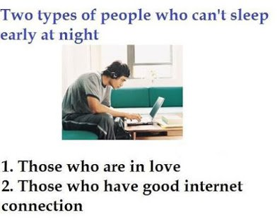 2 types of insomnia