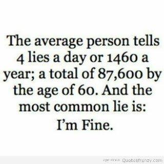 4 lies a day
