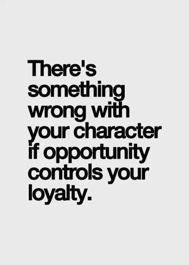 CharacterLoyality