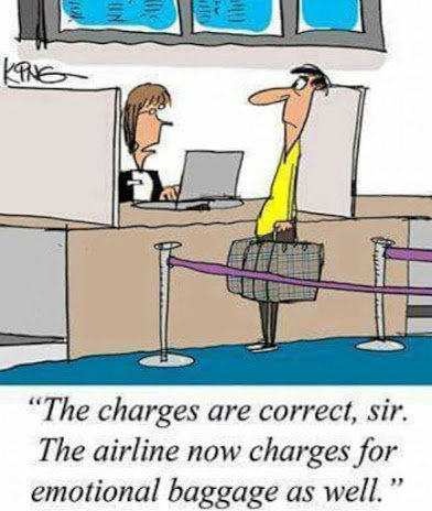 airline charge for emotional baggage