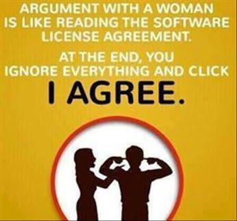 argument wt a woman