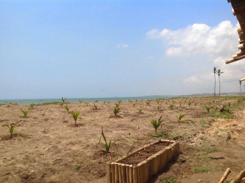 beach ocean villas at prampram