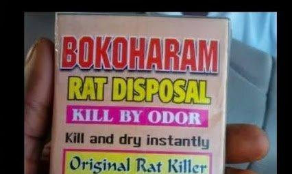 bokoharam rat poison