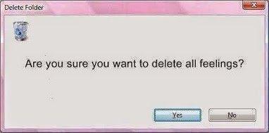 delete all feelings