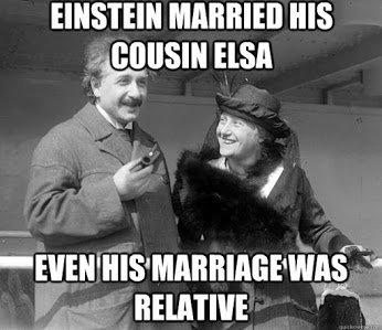einstein marriage was relative