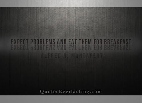 expect problems and eat