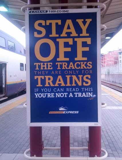 for trains