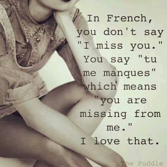 french u a mising from me