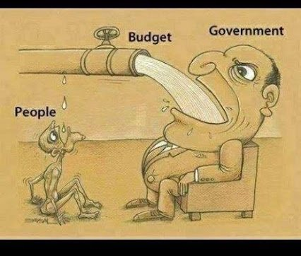 governmnet budget and people