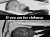 a racist system doesnt care about violence or non violence