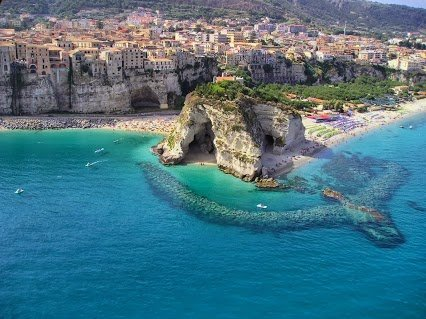 A cool beach in Calibria, Italy