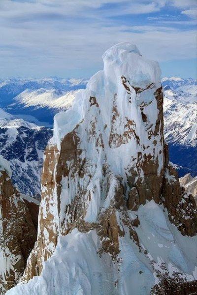 Top of the World, Cerro Torre, Patagonia, Argentina