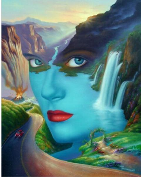 beautiful surreal art