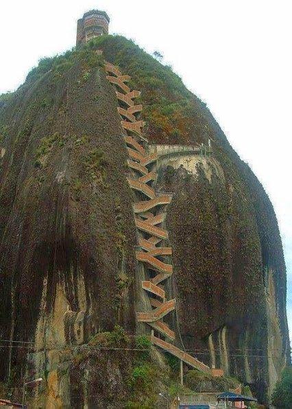 guatape rock in colombia