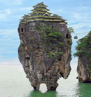 house on rock