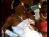 bride-soaking-up-beer