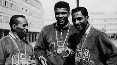 Young Cassius Clay won a gold medal as a light heavyweight at the 1960 Olympics in Rome.