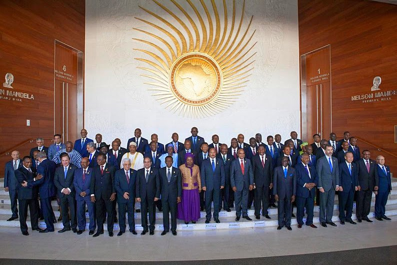 african leaders at the au meeting in addis