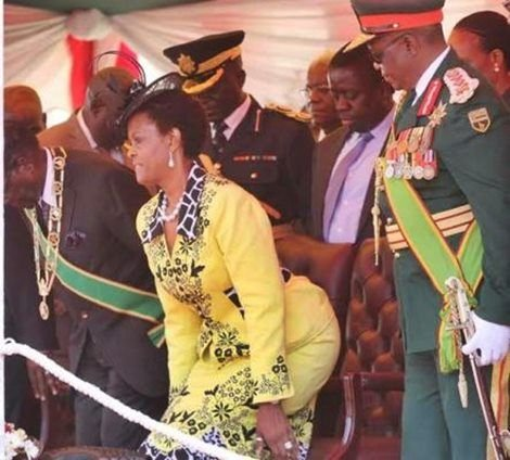 mugabe wife and army chief