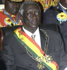 prez kufuor and his gold medal