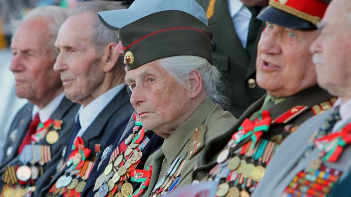 russian veterans contemplate asking germany for compensation