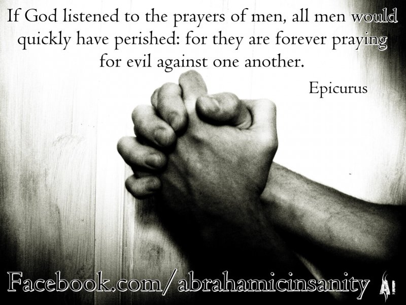 epicerus on prayer