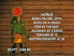 horus born on dec 25