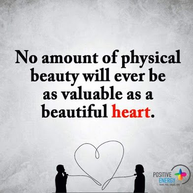 beautiful heart is important